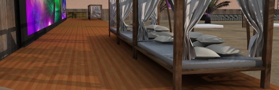 lo ltimo en muebles de exterior son las camas chill out tambin conocidas como camas balinesas este tipo de muebles de jardn logran dar un ambiente de