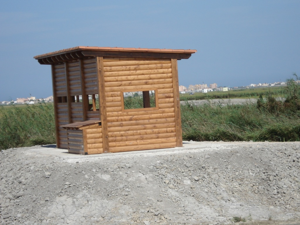 D nde est n los kioskos de madera incofusta for Disenos de kioscos de madera