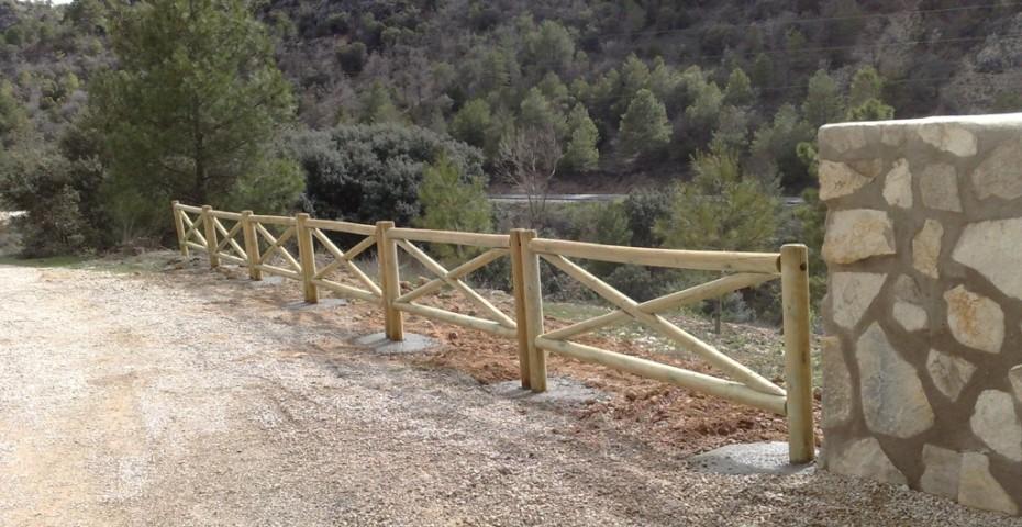 Vallados en cruz incofusta fabrica de madera en valencia - Vallados de madera ...