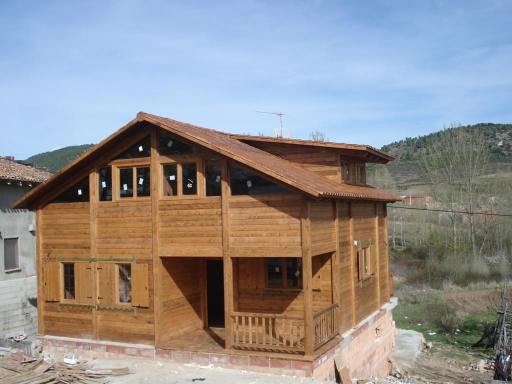 Ventajas de las casas de madera ecol gicas incofusta - Casas ecologicas de madera ...