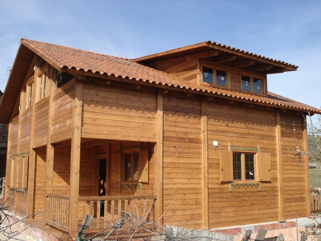 Casas de madera archives incofusta fabrica de madera en - Casas de madera valencia ...