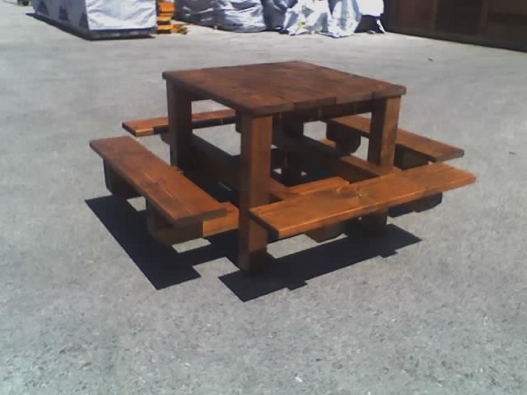 Mesas de madera exterior detalles mobiliario exterior - Mesa de madera exterior ...