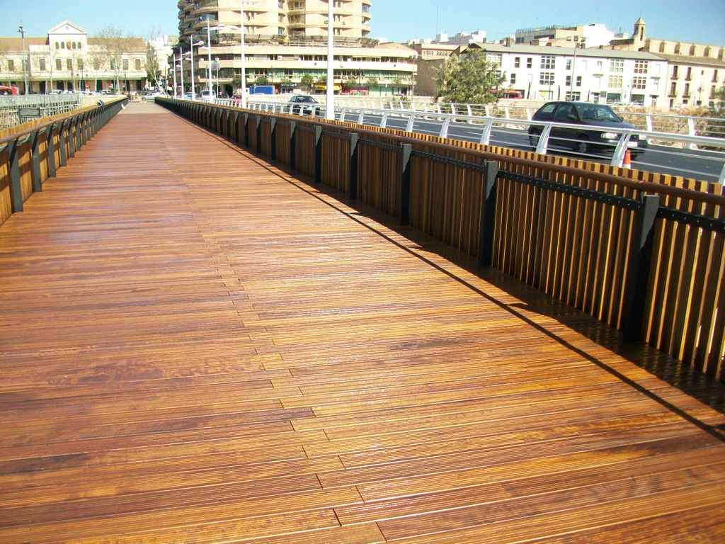 Pont de fusta (Valencia)