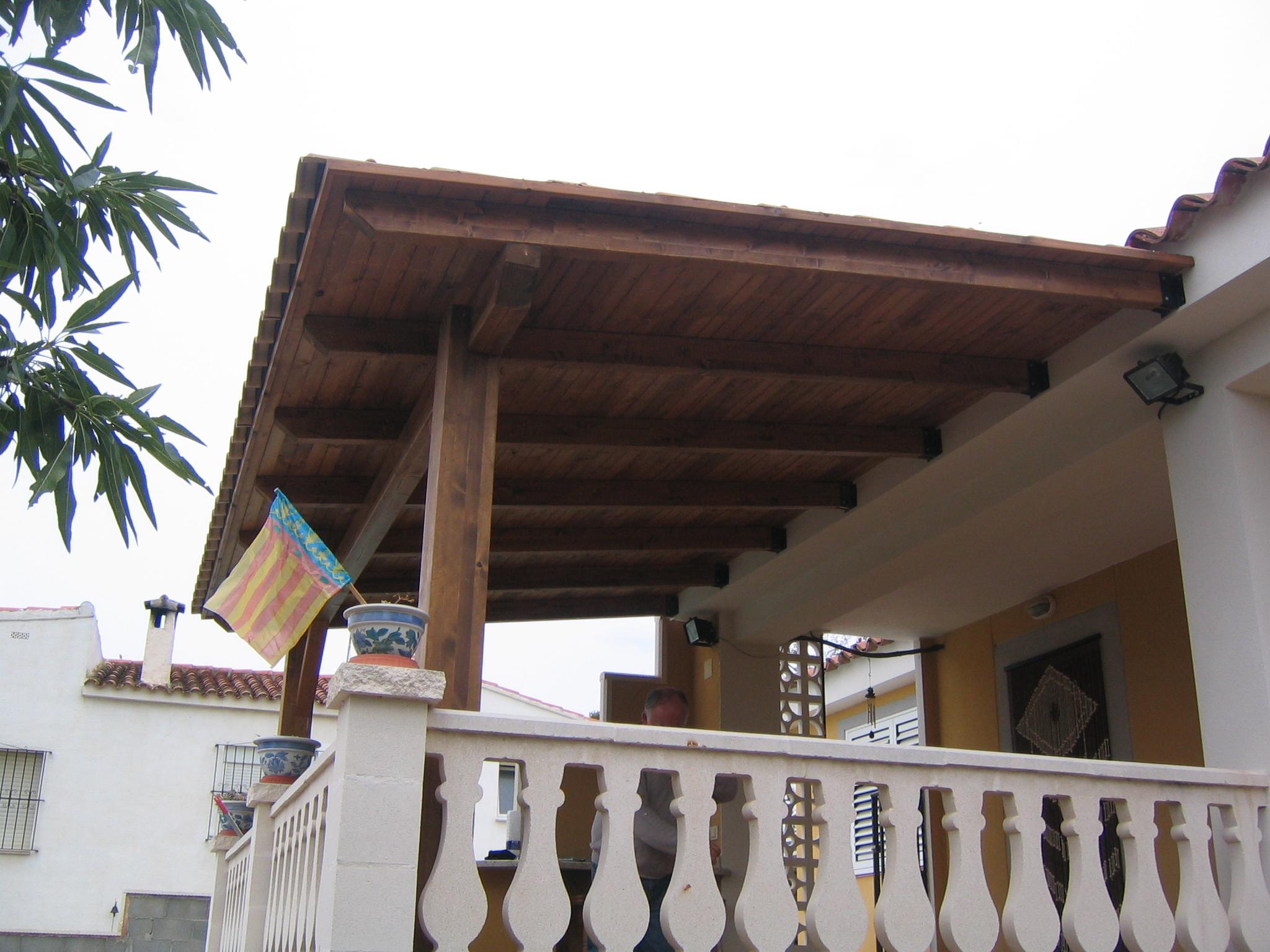 Pergolas de madera baratos valencia