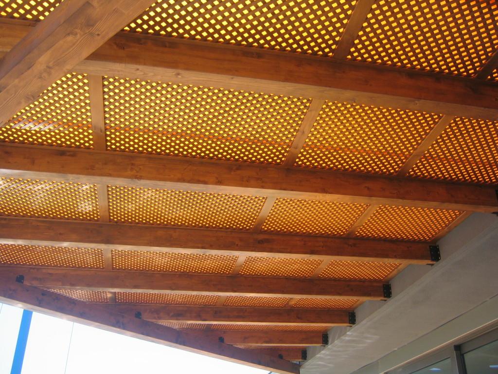 P rgolas de madera adosadas incofusta fabrica de madera - Fabricas de madera ...