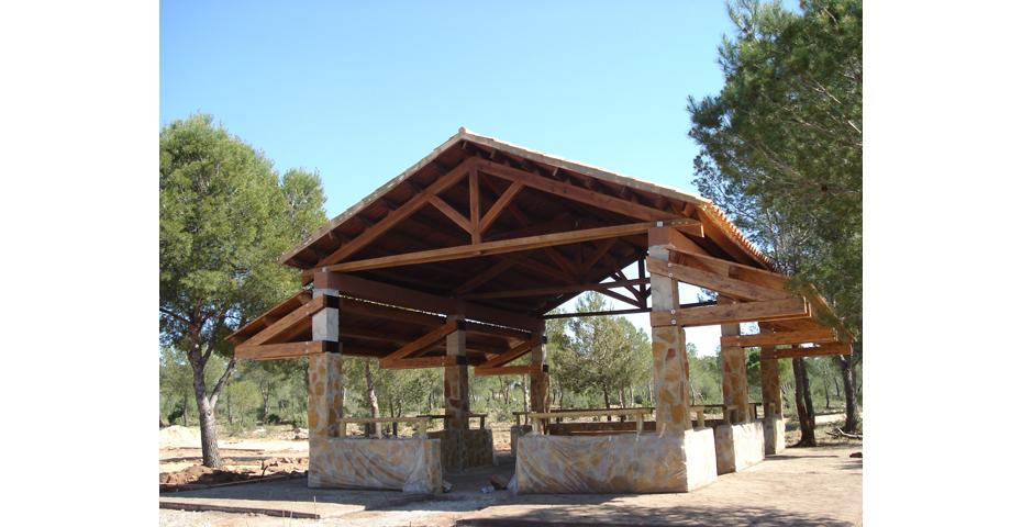 D nde encontrar p rgolas de madera incofusta - Como construir un porche de madera ...