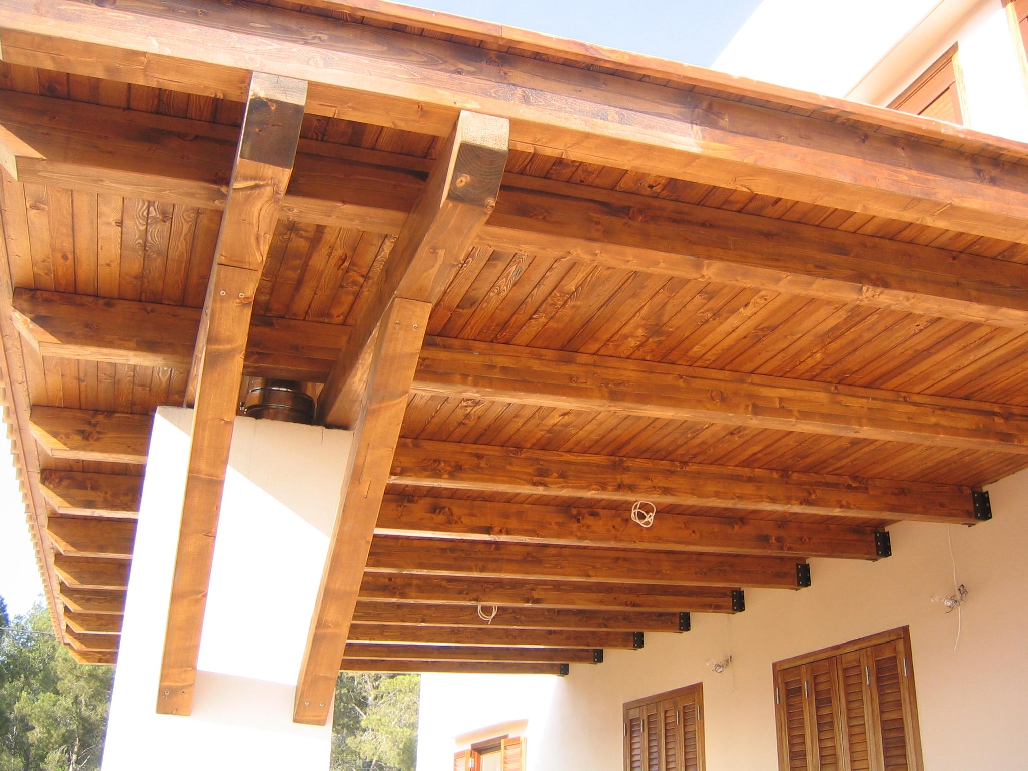 tejados de madera laminada free estructuras de madera
