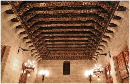 Vigas de madera incofusta fabrica de madera en valencia - Vigas de madera en valencia ...