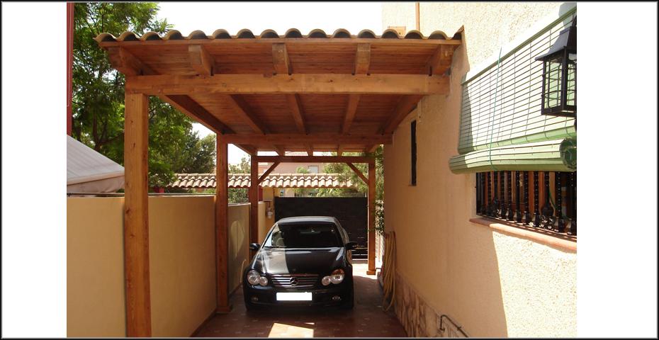 Garajes de madera a medida incofusta - Garage de madera ...