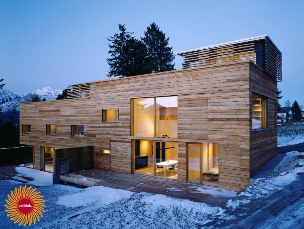 Vivir en una casa de madera incofusta fabrica de madera - Vivir en una casa de madera ...